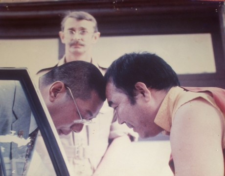 Chogyam Trungpa and Lama Lodu