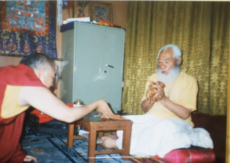 H.H. Jatral Rinpoche and Lama Lodu