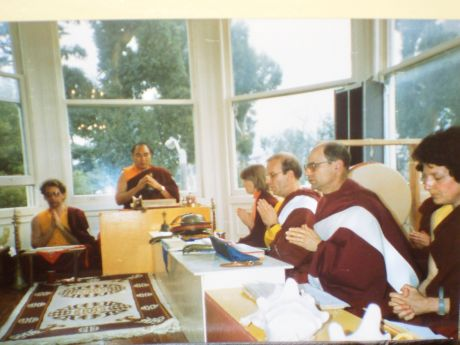 Lama Lodu Rinpoche at KDK