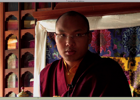 H.H. 17th Karmapa at KDK