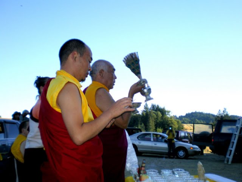 Stupa Consecration Ceremony